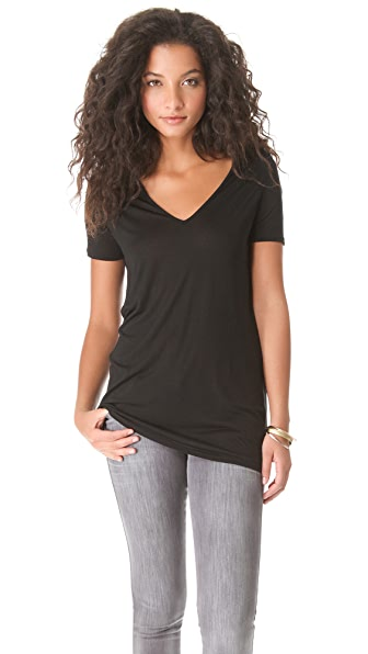 Lanston Open V Neck Tee