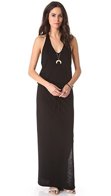 Lanston Halter Maxi Dress