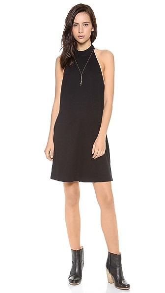 Lanston Turtleneck Halter Dress