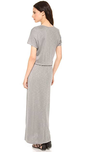 Lanston V Neck Maxi Dress