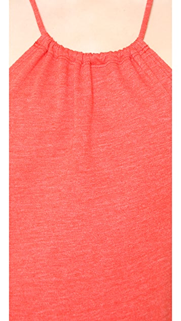 Lanston High Neck Halter Maxi Dress
