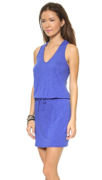 Lanston V Neck Racer Back Dress