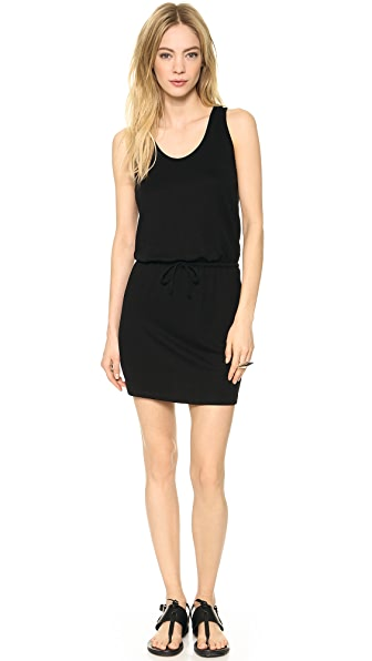 Lanston Cutout Racer Back Mini Dress