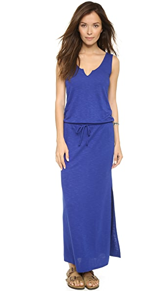Lanston Split V Maxi Dress