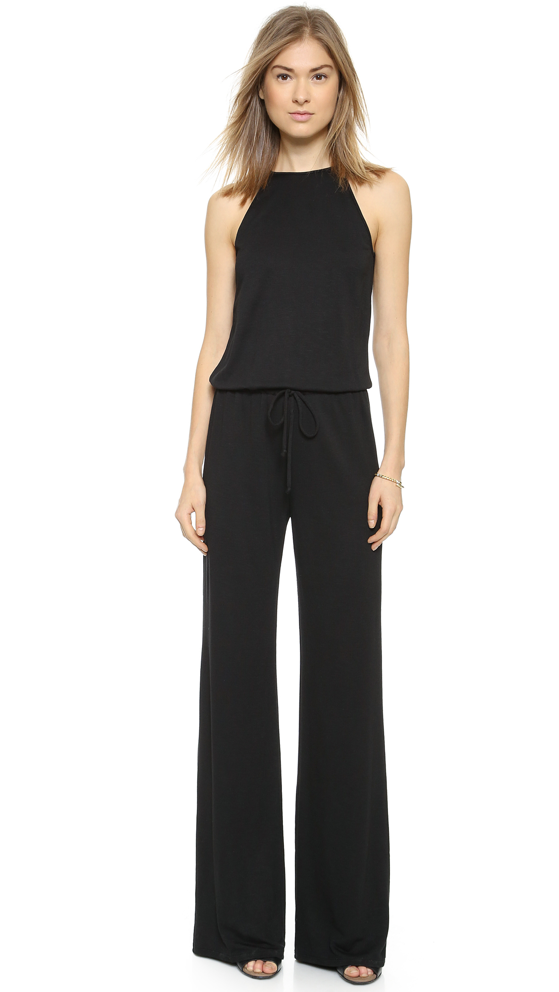 Lanston Halter Jumpsuit - Black at Shopbop