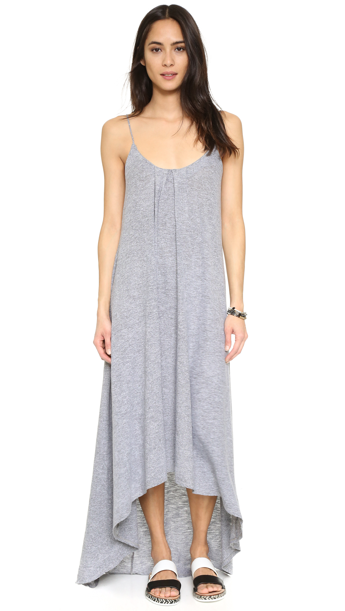 Lanston High Low Maxi Dress - Heather at Shopbop