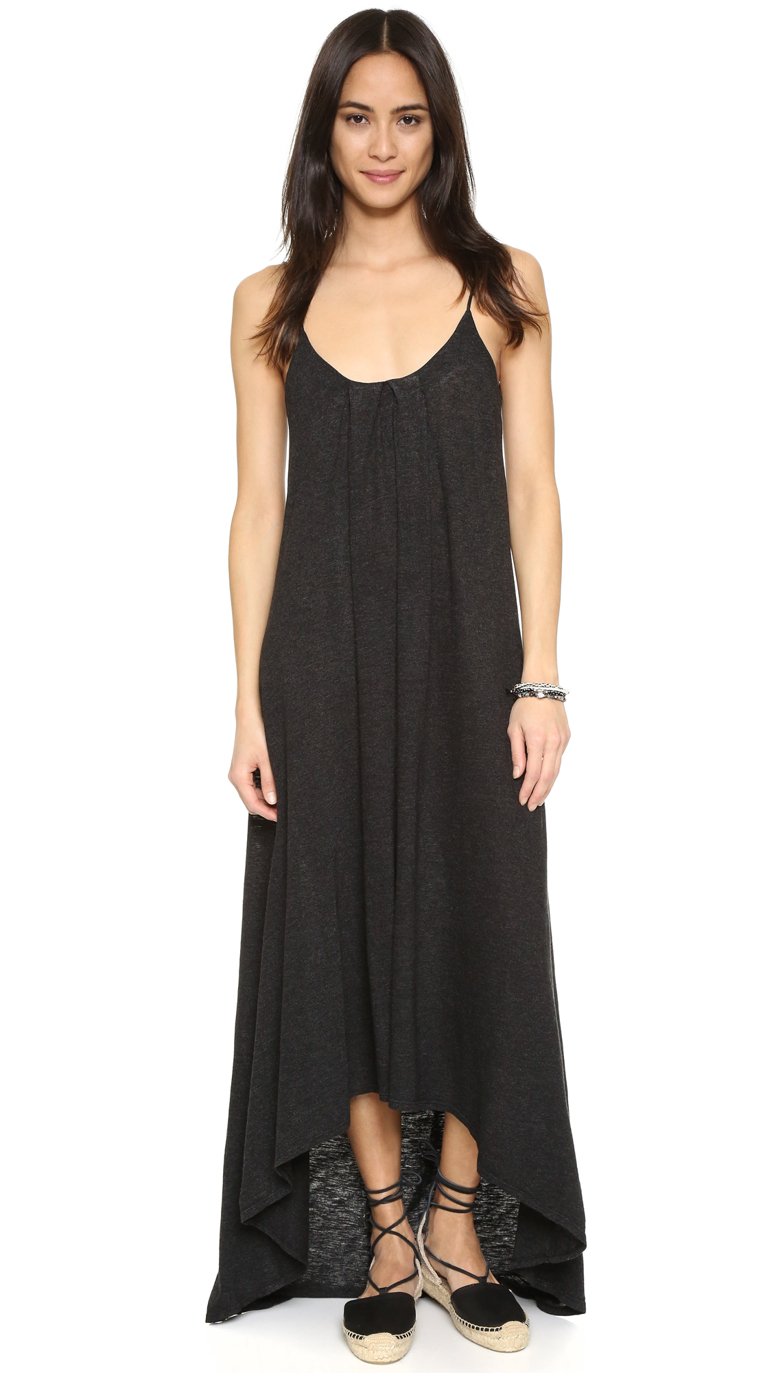 Lanston High Low Maxi Dress - Black at Shopbop