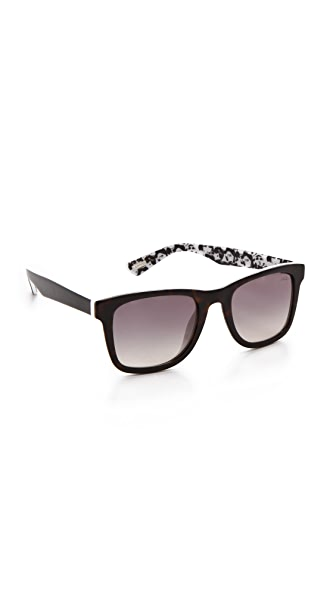 Lanvin Square Frame Sunglasses