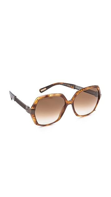 Lanvin Mesh Butterfly Sunglasses