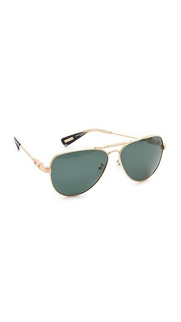 Lanvin Polarized Aviator Sunglasses