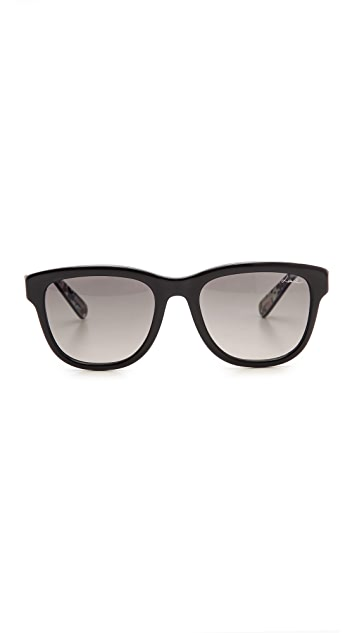 Lanvin Thick Frame Sunglasses