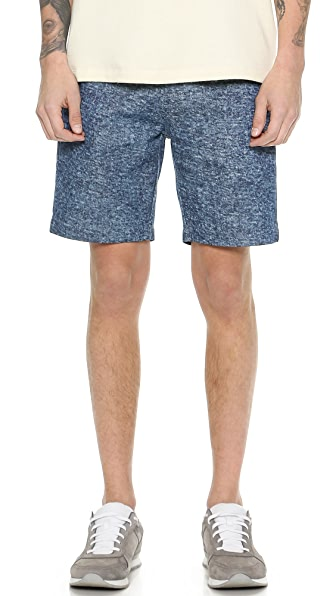 La Panoplie Bermuda Snow Denim Shorts
