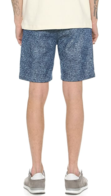 La Panoplie Bermuda Snow Denim Shorts