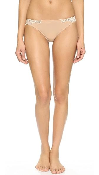 La Perla Souple Thong In Skin