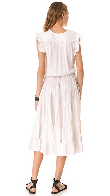 LA't by L'AGENCE Sleeveless Dress with Ruffles