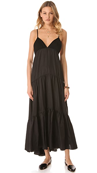 LA't by L'AGENCE Spaghetti Strap Maxi Dress