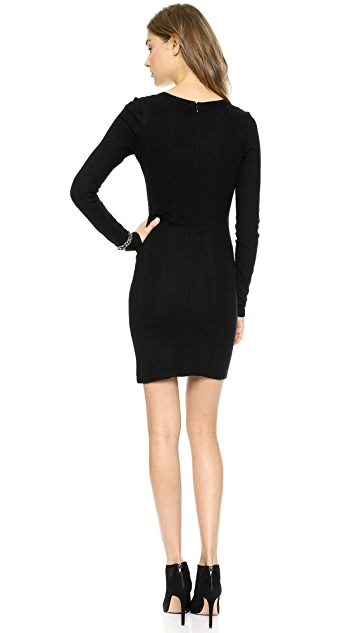 LA't by L'AGENCE Long Sleeve Fitted Dress