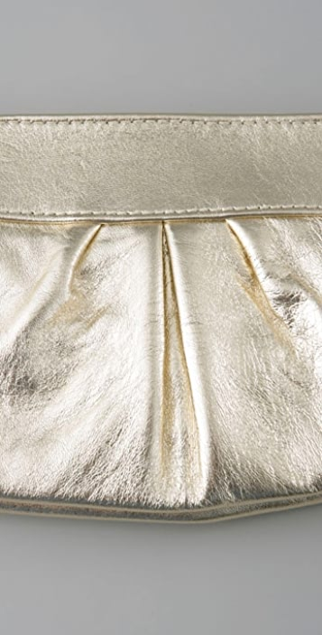 Lauren Merkin Handbags Eve Metallic Clutch
