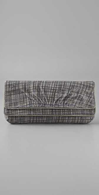 Lauren Merkin Handbags Allie Plaid Clutch