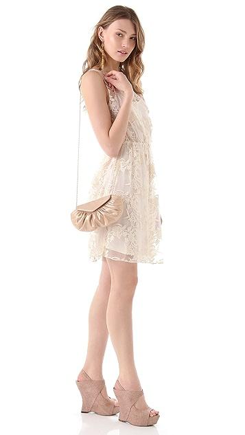 Lauren Merkin Handbags Diana Pearlized Lizard Bag