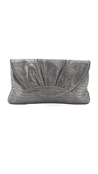 Lauren Merkin Handbags Ava Croco Clutch