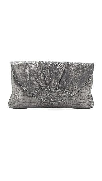 Lauren Merkin Handbags Ava Croco Clutch