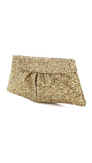 Lauren Merkin Handbags Eve Glitter Encrusted Clutch