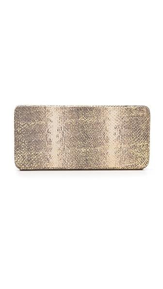 Lauren Merkin Handbags Grace Snake Minaudiere