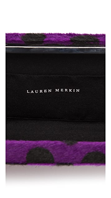Lauren Merkin Handbags Grace Haircalf Minaudiere