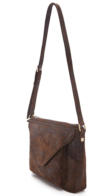 Lauren Merkin Handbags Simone Distressed Bag