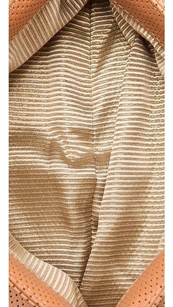 Lauren Merkin Handbags Louise Perf Oversized Clutch