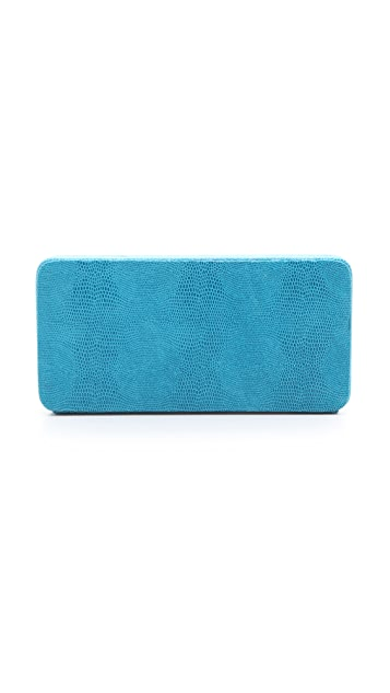 Lauren Merkin Handbags Grace Embossed Minaudiere