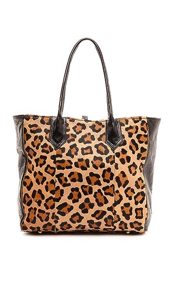 Lauren Merkin Handbags Reese Tote with Haircalf