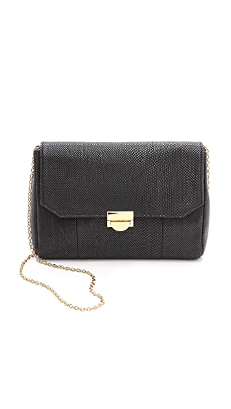Lauren Merkin Handbags Snake Embossed Mini Marlow Bag