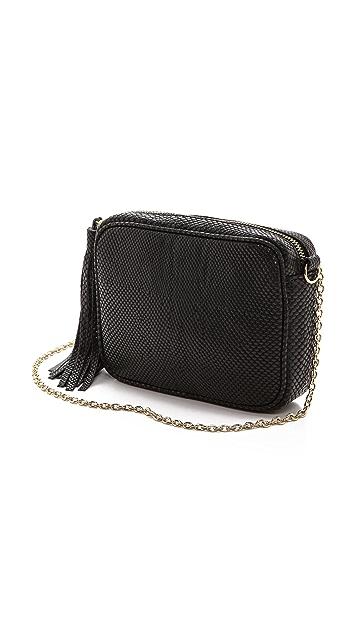 Lauren Merkin Handbags Snake Embossed Meg Cross Body Bag