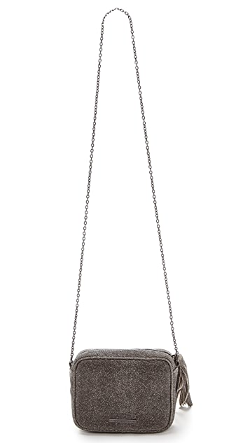 Lauren Merkin Handbags Glitter Meg Cross Body Bag
