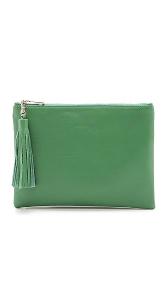 Lauren Merkin Handbags Large Tassel Pouch