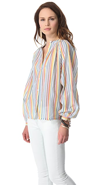 Laurence Dolige Matches Striped Top