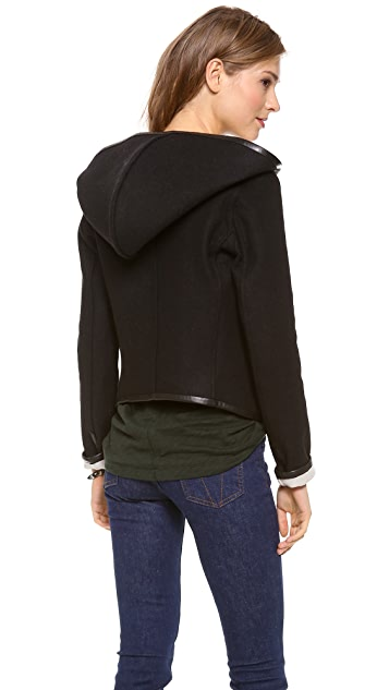 LAVEER Reversible Hooded Jacket