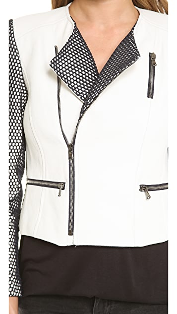LAVEER Midnight Moto Jacket