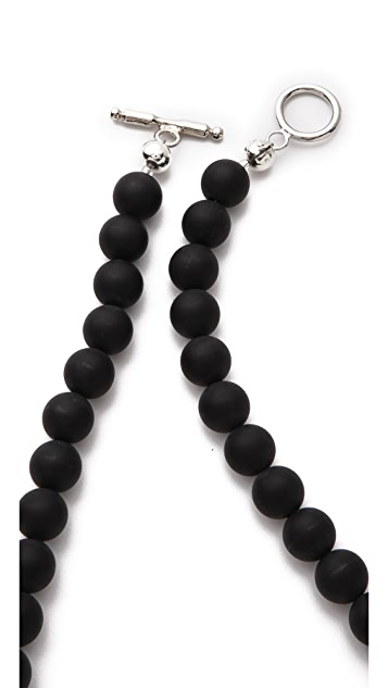 La Vie Bobo Medium Matte Quartz Necklace