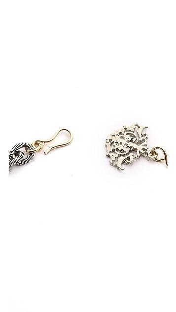 Laura Cantu Large Drop Rhinestone Necklace