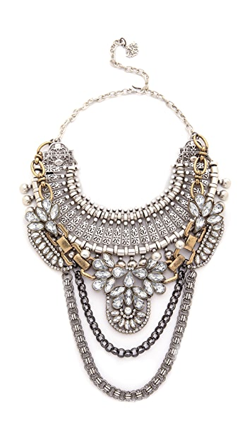 Laura Cantu Ethnic Double Necklace