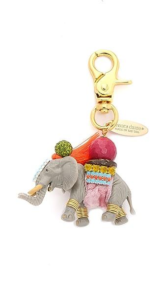 Lenora Dame Elephant Bag Charm