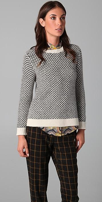 Lyn Devon Chunky Swing Sweater