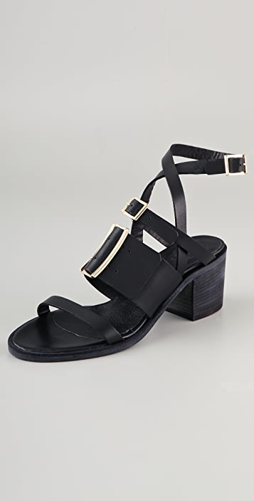LD Tuttle The Buckle Sandals