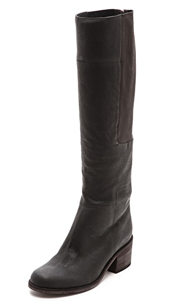 LD Tuttle The Lost Stacked Heel Knee High Boots