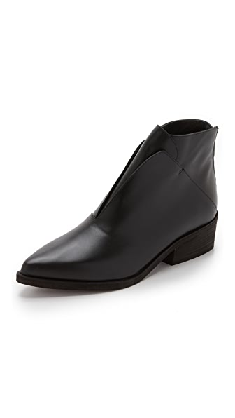 LD Tuttle The Ash Booties - Black