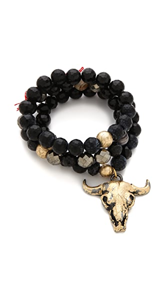 Lead Steer Bracelet Set