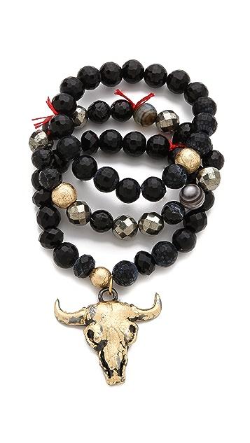 Lead Steer Bracelet Set